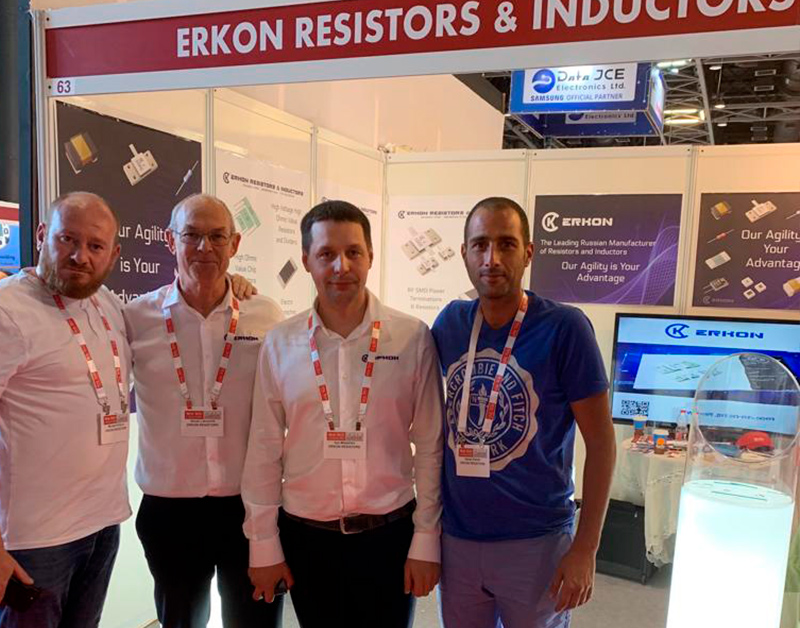 ERKON at The New Tech Electronics Exhibition